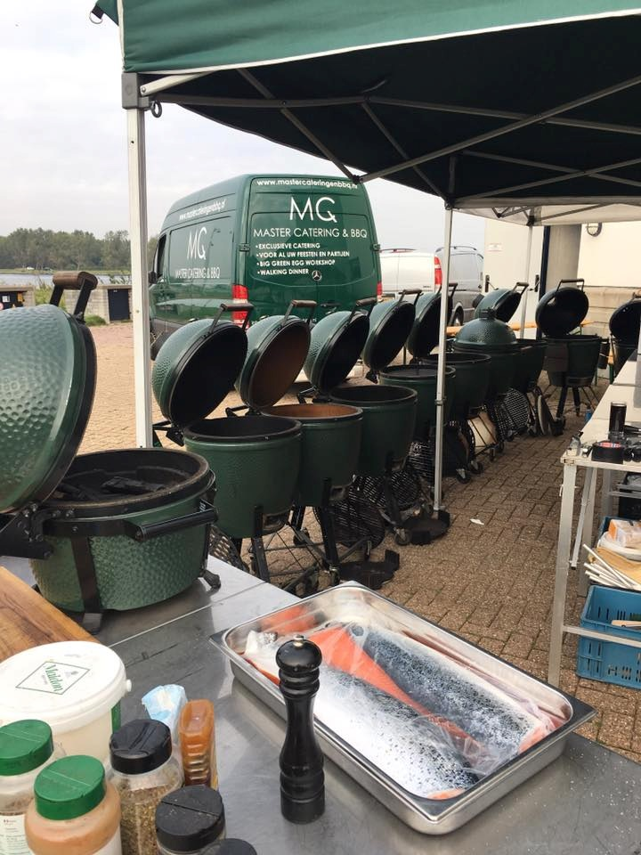 Big Green Egg BBQ catering